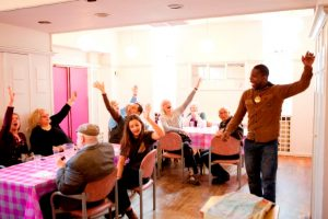 Picture Jacksons Lane social lunches