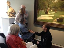 Dementia+art tour for people with dementia