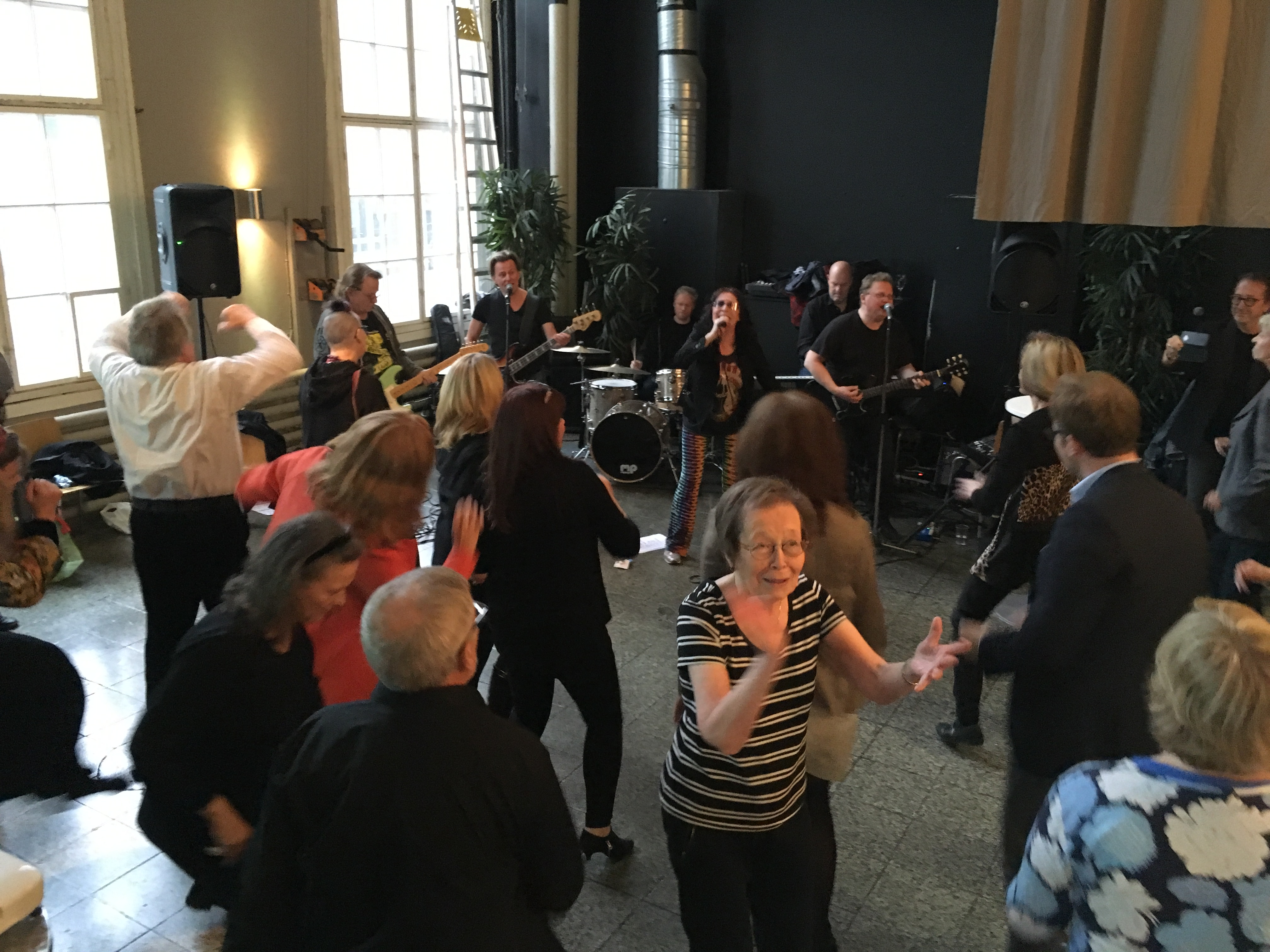 Opening event, Armas Creative Ageing Festival, Finland, October 2017